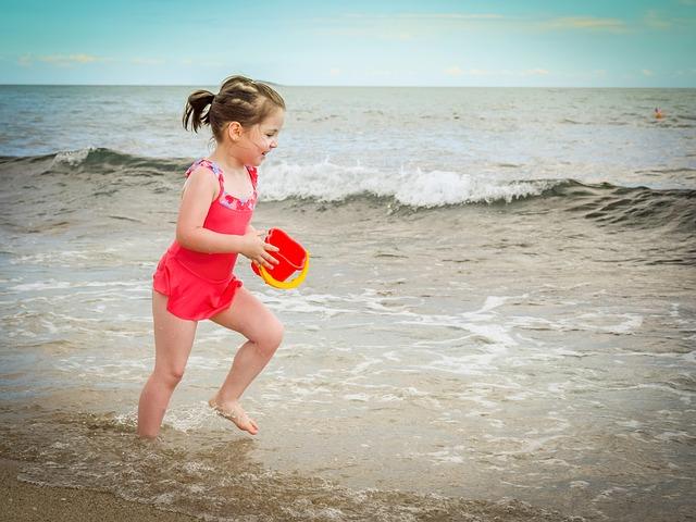 Kako pripremiti djecu za more